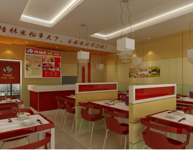 【兼职】小型餐馆张贴海报