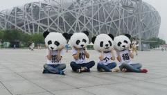 【兼职】戴熊猫头套扫码邀请人员